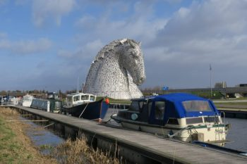 Public art: Free tourist attraction, The Kelpies, Scotland