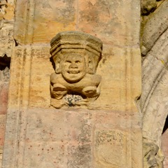 Green men in Rosslyn Chapel