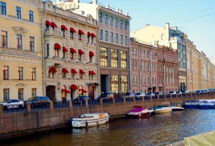 Cartier building, Dvortsovaya Embankment, St Petersburg.