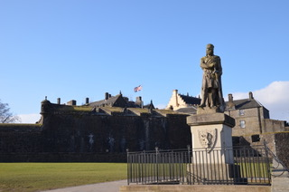Robert the bruce & Stirling Castle, Scotland