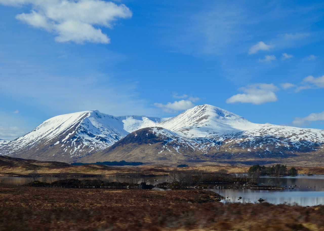 Skye road trip through Glencoe, Scotland