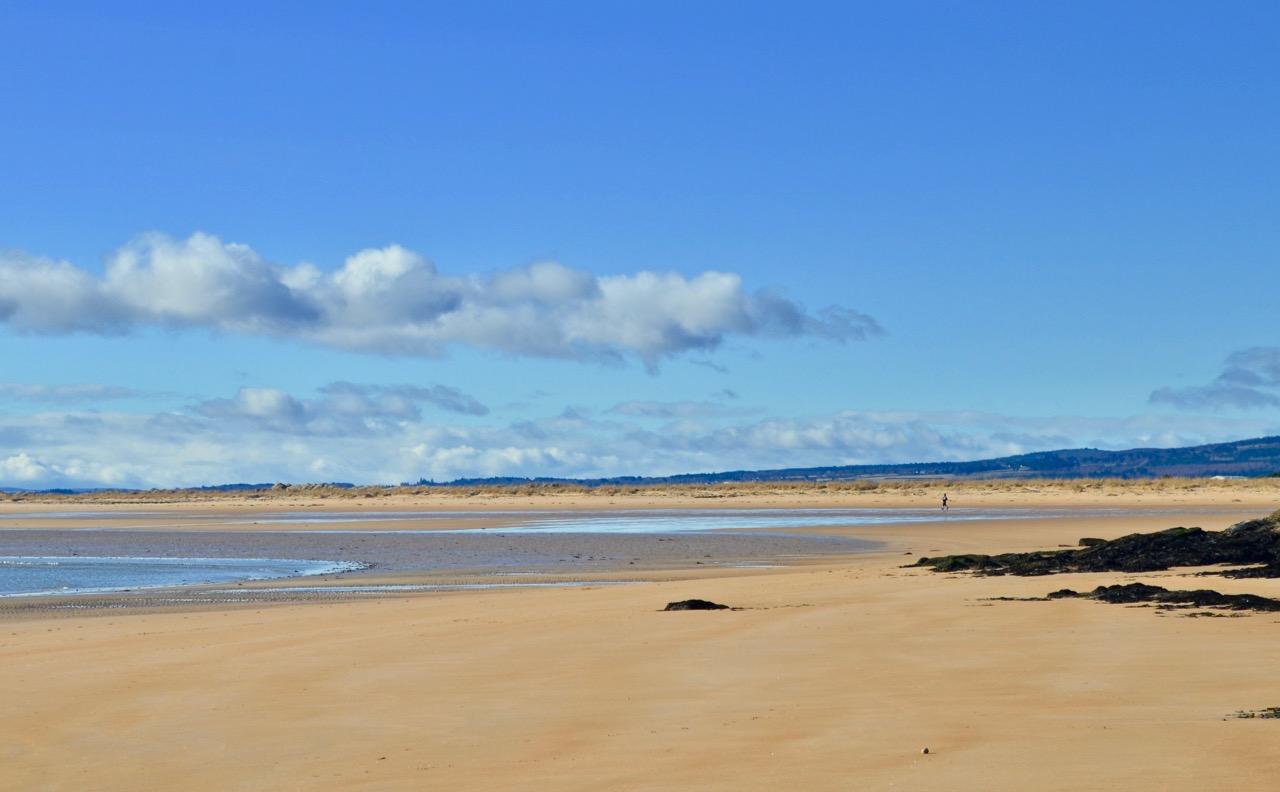 Dornoch beach, Sutherland Scotland.