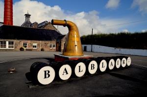Balblair Distillery Edderton Scotland.