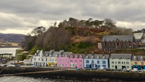 Portree, road trip to Skye