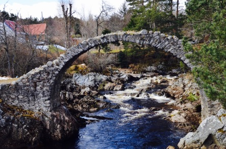 The Old Packhorse Bridge, Carrbridge Aviemore