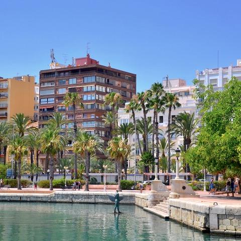 Esplanada de Esplana, Alicante