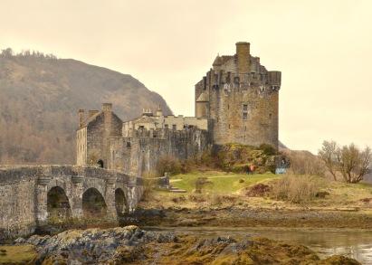 Eilean Donna castle Scotland