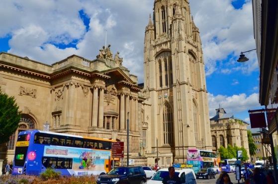 Bristol University and Bristol museum