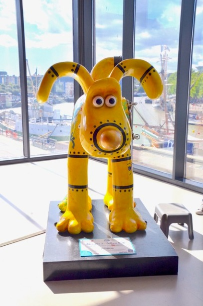 Wallace & Gromit family trail in Bristol