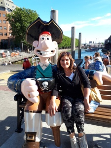 Wallace & Gromit family trail in Bristol.