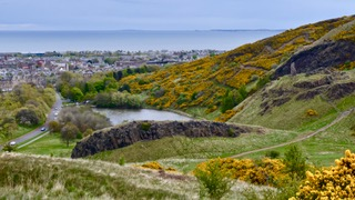 Arthurs seat in Edinburgh