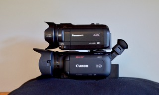 Panasonic HC-VX980 and Canon XA11 camcorder