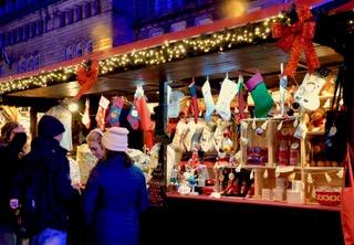 Edinburgh Christmas German markets 2019