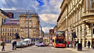 George square Glasgow city centre