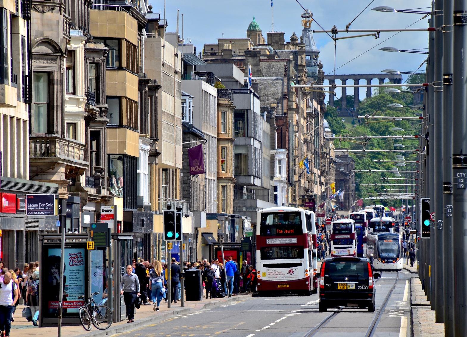 Edinburgh Princes street