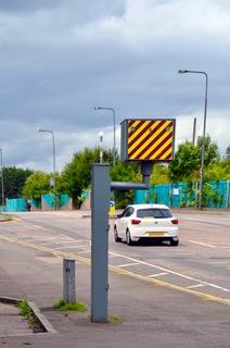 Reduced speeds in scottish cities.