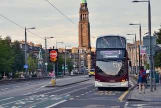 Edinburgh Greenways bus lanes