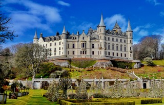 Dunrobin Castle Highlands Scotland