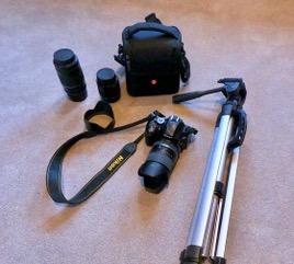 Camera equipment for DSLR