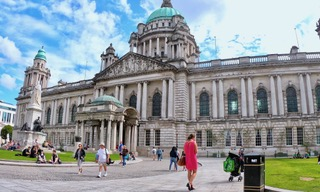 Belfast City Hall Northern Ireland.