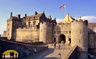 Stirling castle Scotland