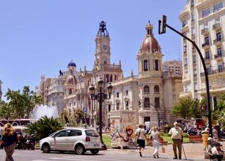 City of Valencia town centre