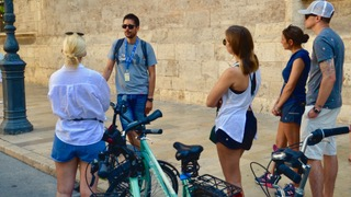City cycle tour Valencia