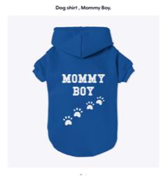 dog coat teespring